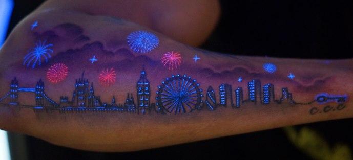 Tatuaże Uv Co Powiecie Na Takie Cudo Loveink