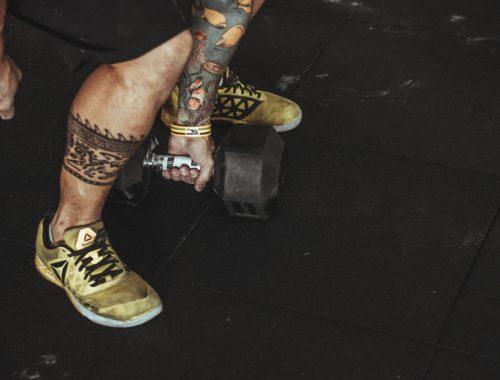 Wycisk dla skóry, czyli tatuaż na siłowni
