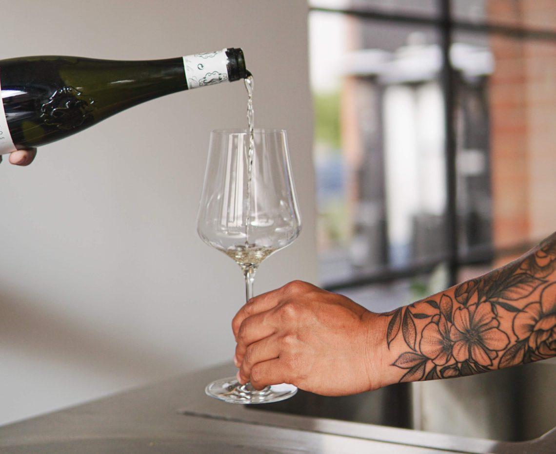alkohol podczas tatuowania